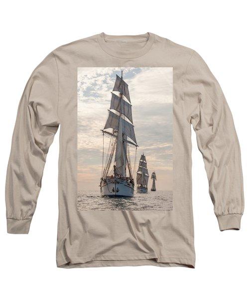 Parade Of Ships Long Sleeve T-Shirt
