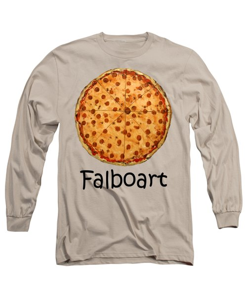 The Big Ass New York Pizza Long Sleeve T-Shirt by Anthony Falbo
