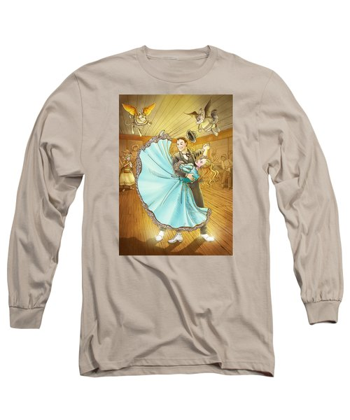The Magic Dancing Shoes Long Sleeve T-Shirt by Reynold Jay
