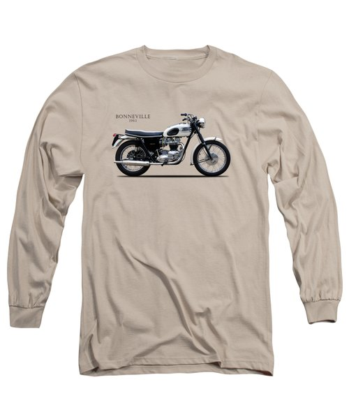 Triumph Bonneville 1963 Long Sleeve T-Shirt