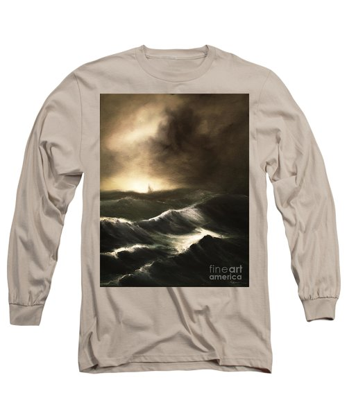 Long Sleeve T-Shirt featuring the painting Untitled by Stephen Roberson