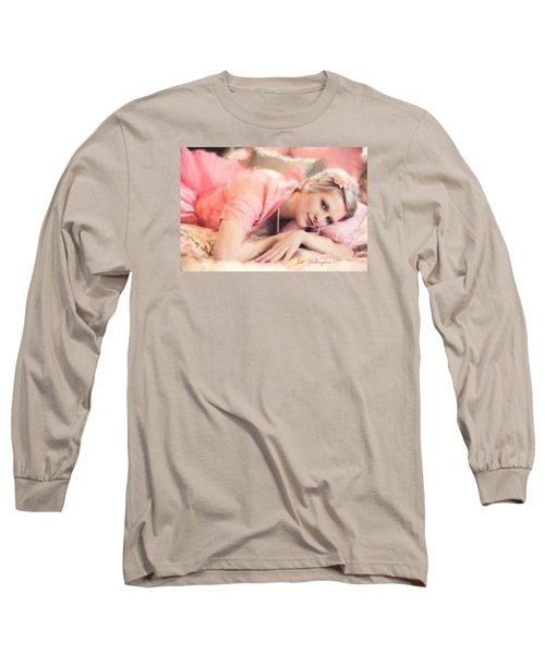 Vintage Val Bedroom Dreams Long Sleeve T-Shirt