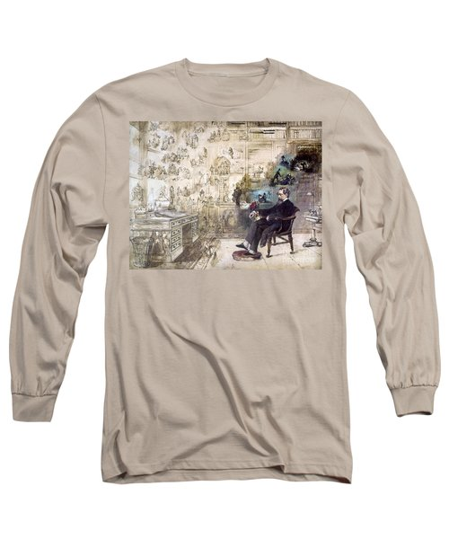 Charles Dickens (1812-1870) Long Sleeve T-Shirt