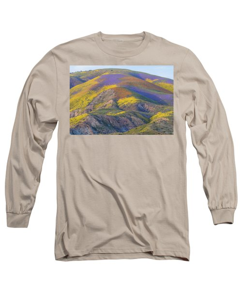 2017 Carrizo Plain Super Bloom Long Sleeve T-Shirt by Marc Crumpler