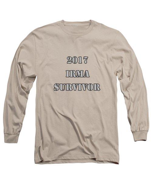 2017 Irma Survivor Long Sleeve T-Shirt