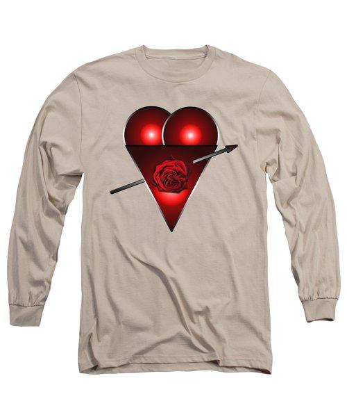 21st Century Love Heart  Long Sleeve T-Shirt