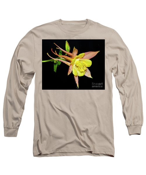Spring Flower Long Sleeve T-Shirt by Elvira Ladocki