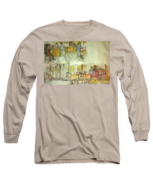 the ole' West my way album Long Sleeve T-Shirt by Debbi Saccomanno Chan