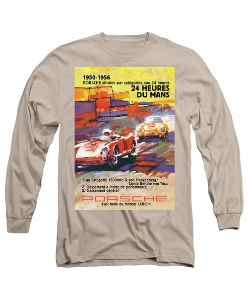 24 Hours Of Le Mans Long Sleeve T-Shirt
