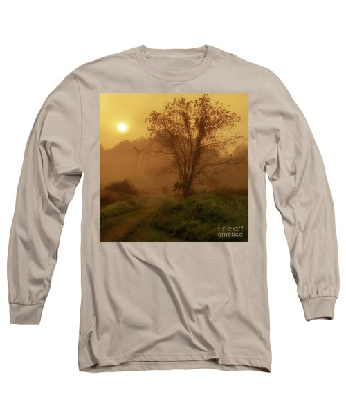 Misty Mountain Sunrise Long Sleeve T-Shirt by Thomas R Fletcher