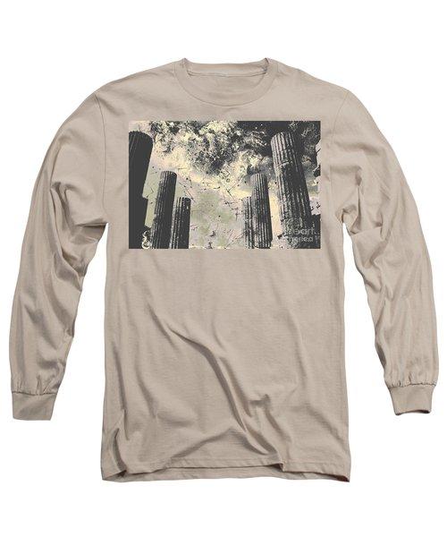 Akropolis Columns Long Sleeve T-Shirt