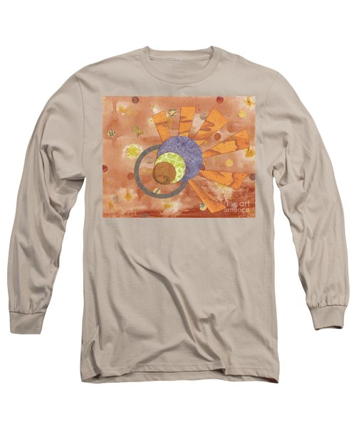 Long Sleeve T-Shirt featuring the mixed media 2life by Desiree Paquette