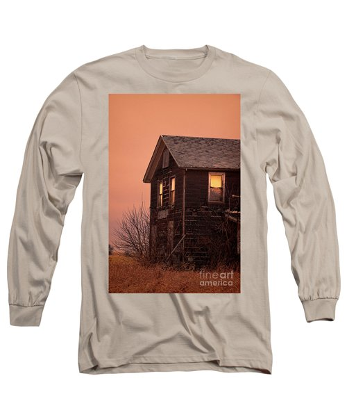 Long Sleeve T-Shirt featuring the photograph Abandoned House by Jill Battaglia
