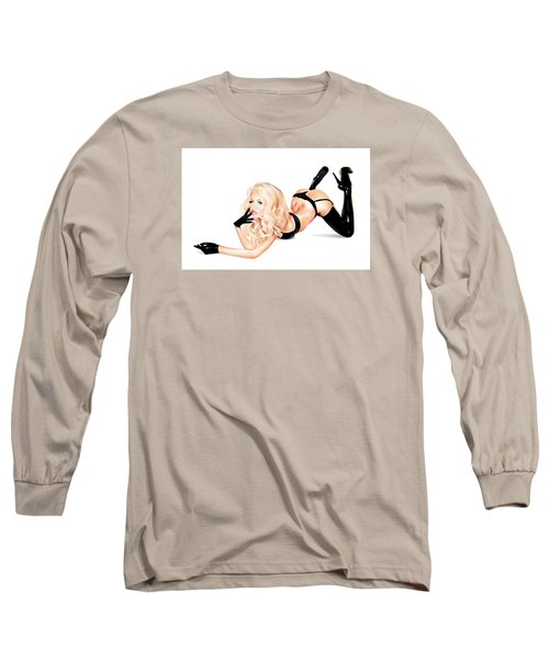 Bottoms Up Long Sleeve T-Shirt