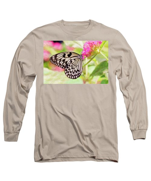 Butterfly Long Sleeve T-Shirt