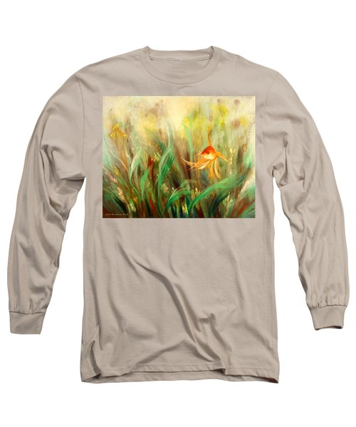 Gold Fish Long Sleeve T-Shirt