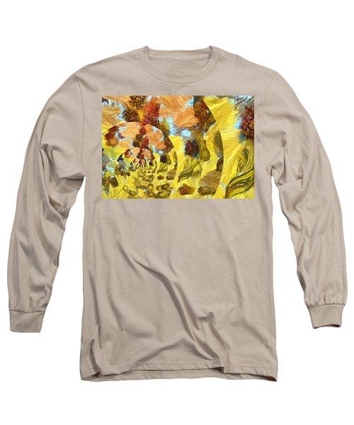 Long Sleeve T-Shirt featuring the photograph Interior by Beto Machado