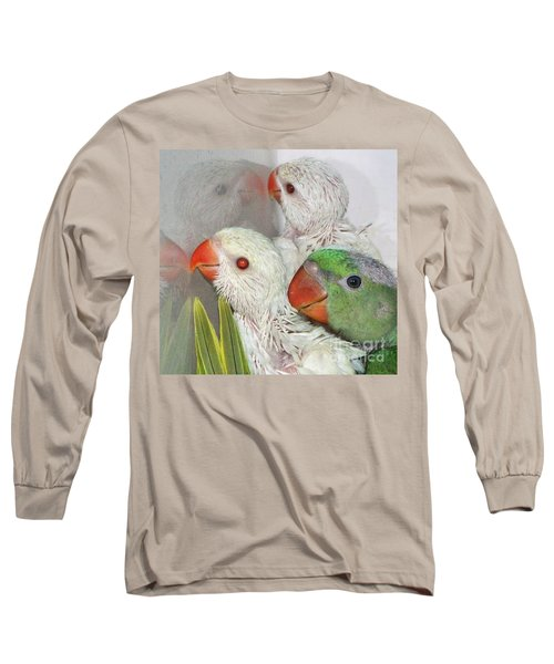 Long Sleeve T-Shirt featuring the photograph 3 Is Company 4 Is A Crowd by Debbie Stahre