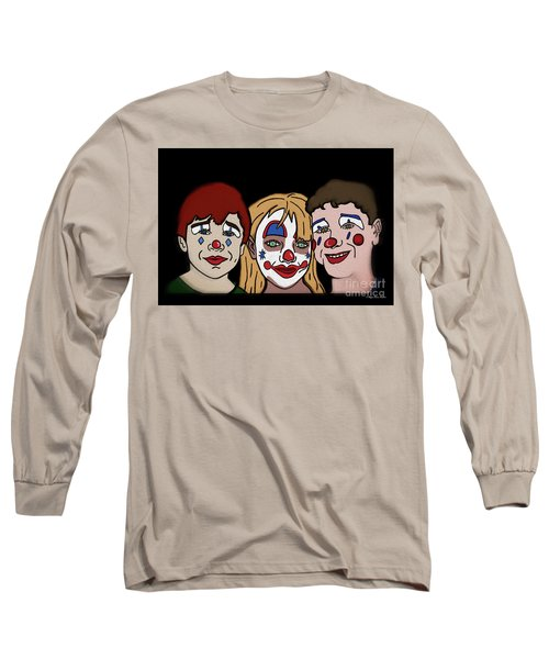 3 Jesters Long Sleeve T-Shirt