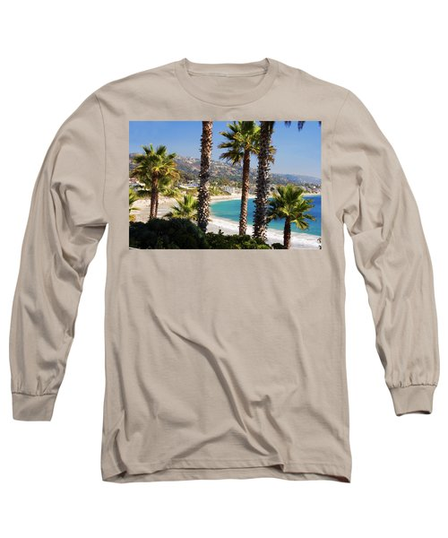 Laguna Beach California Coast Long Sleeve T-Shirt by Utah Images