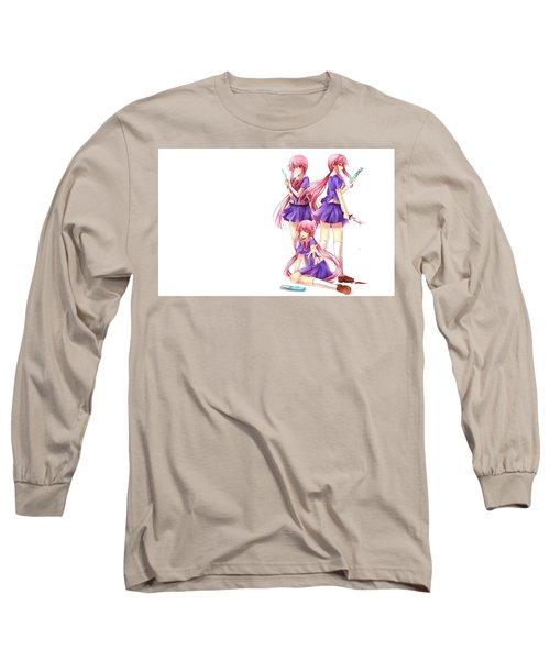 Mirai Nikki Long Sleeve T-Shirt