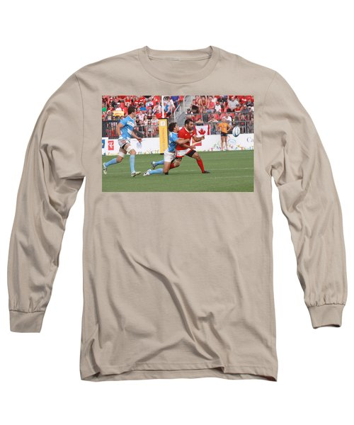 Pamam Games Men's Rugby 7's Long Sleeve T-Shirt