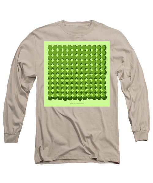 Pi Approximate Packing Of Circles Long Sleeve T-Shirt