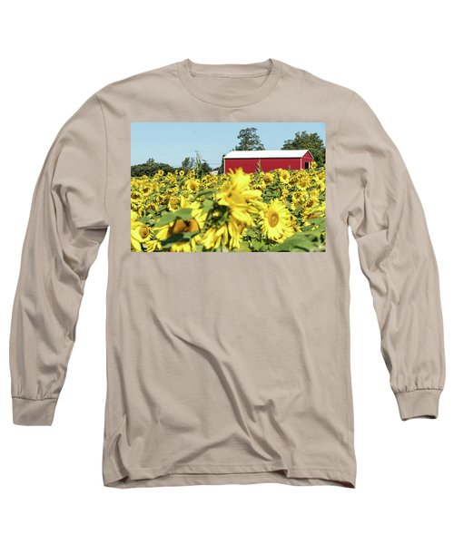 The Red Barn Long Sleeve T-Shirt