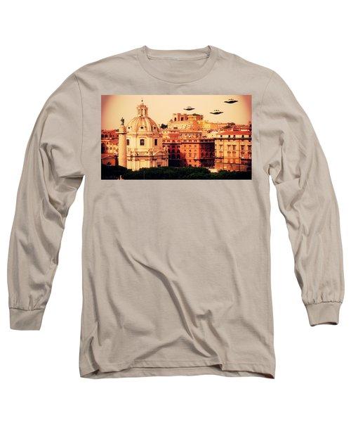 Ufo Rome Long Sleeve T-Shirt