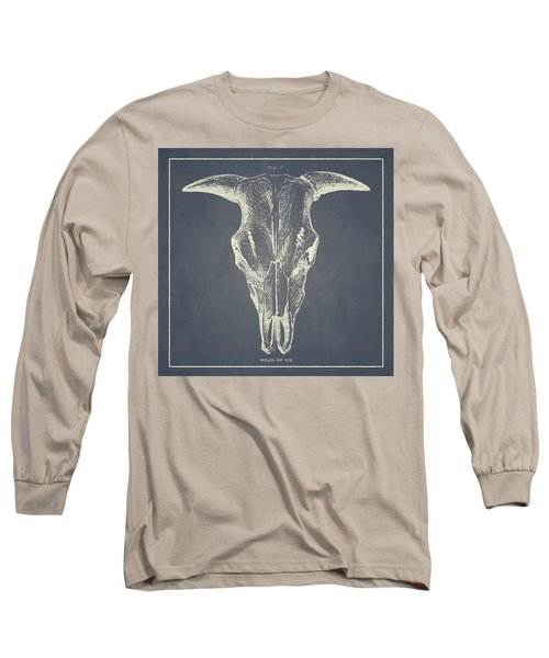 Vintage Ox Head Long Sleeve T-Shirt