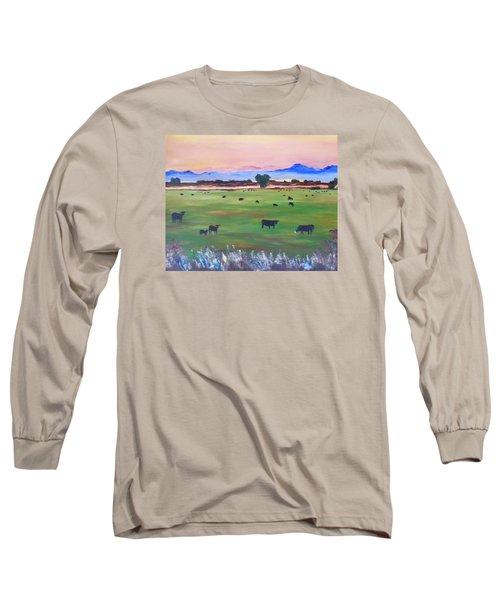 #30 Waking Up Long Sleeve T-Shirt