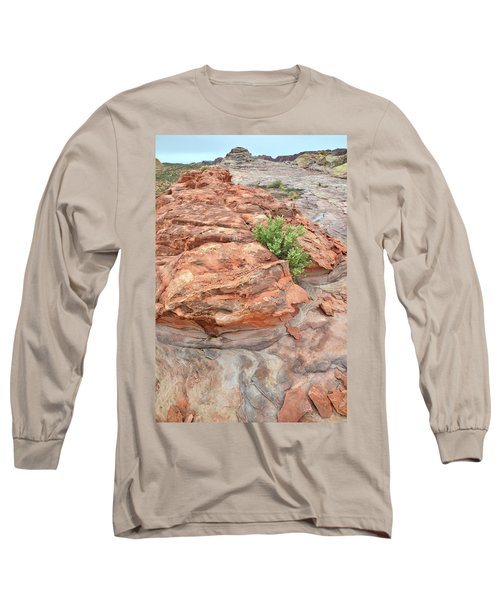 Colorful Sandstone In Valley Of Fire Long Sleeve T-Shirt