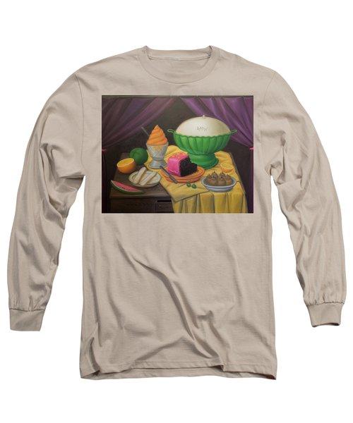 Bogota Museo Botero Long Sleeve T-Shirt