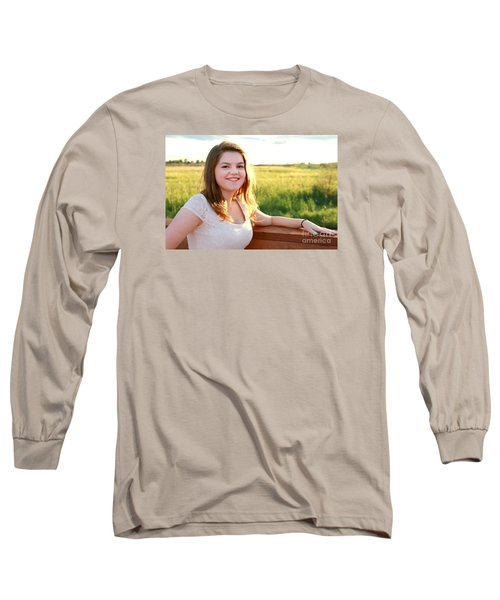 3763 Long Sleeve T-Shirt by Mark J Seefeldt