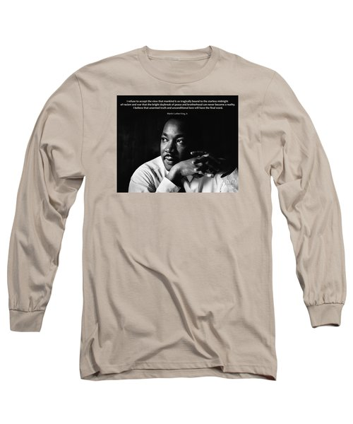 39- Martin Luther King Jr. Long Sleeve T-Shirt by Joseph Keane