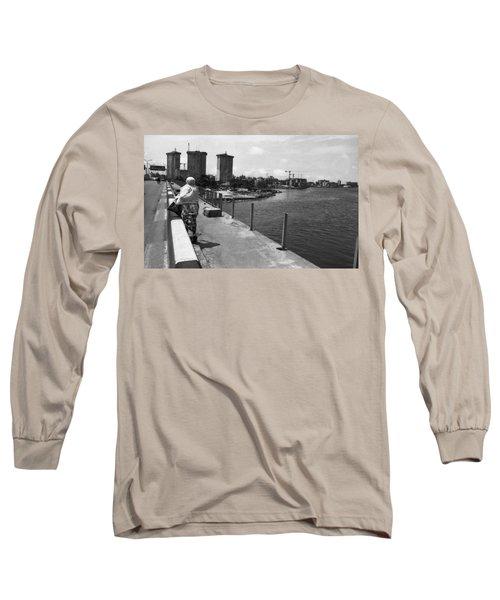 Falomo Bridge Across The Lagoon Long Sleeve T-Shirt
