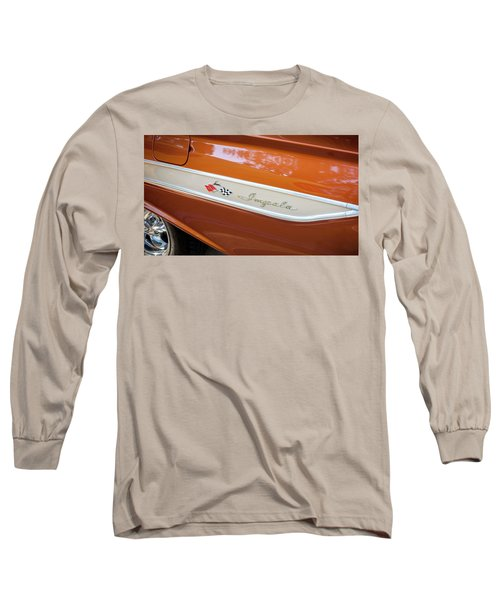 Long Sleeve T-Shirt featuring the photograph 1961 Chevrolet Impala Ss  by Rich Franco