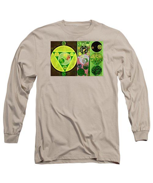 Long Sleeve T-Shirt featuring the digital art Abstract Painting - Myrtle by Vitaliy Gladkiy