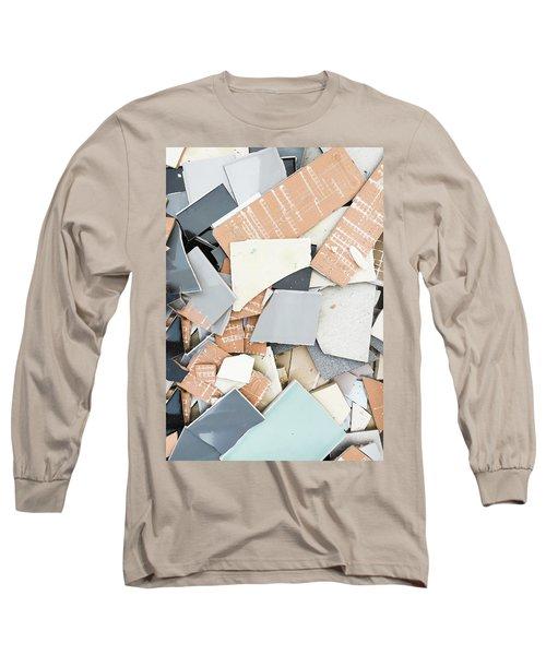 Broken Tiles Long Sleeve T-Shirt