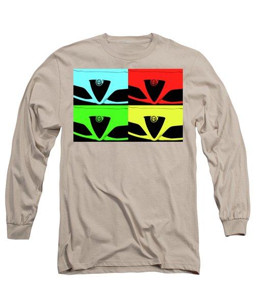 4 C Pop Long Sleeve T-Shirt by John Schneider