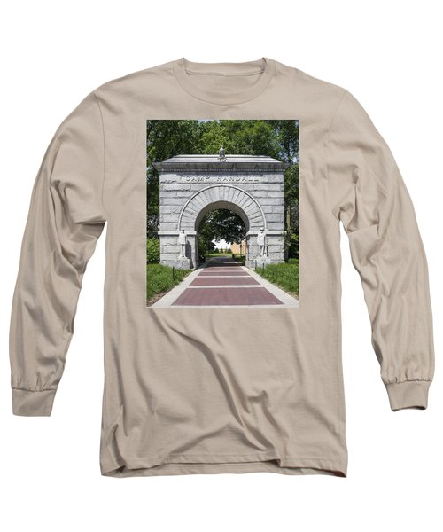 Camp Randall Memorial Arch - Madison Long Sleeve T-Shirt