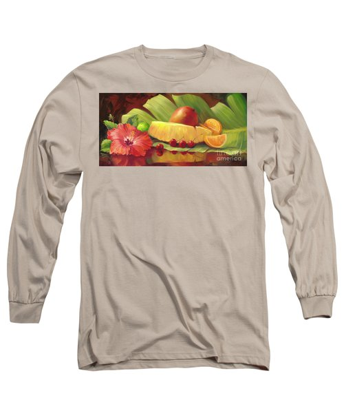 4 Cherries Long Sleeve T-Shirt by Laurie Hein