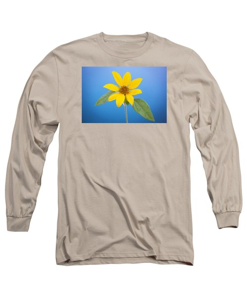 Happy Sunflowers Helianthus  Long Sleeve T-Shirt by Rich Franco
