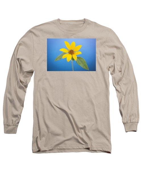 Happy Sunflowers Helianthus  Long Sleeve T-Shirt