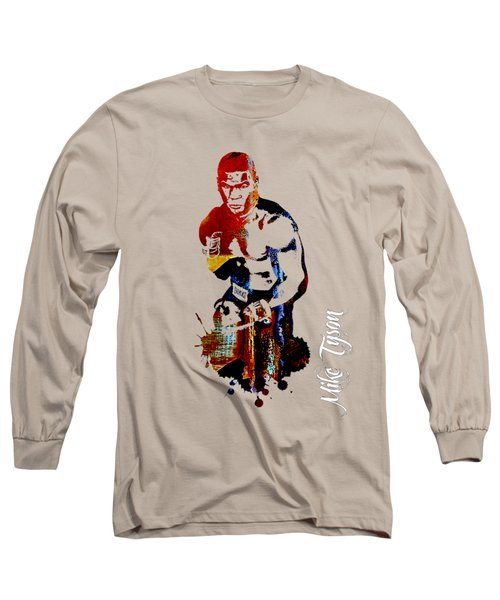 Mike Tyson Collection Long Sleeve T-Shirt by Marvin Blaine