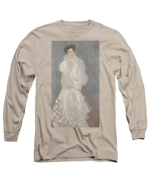 Portrait Of Hermine Gallia Long Sleeve T-Shirt