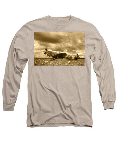 Spitfire Mk Ixb Long Sleeve T-Shirt