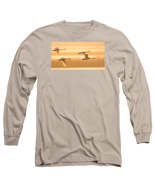 4 Swans Long Sleeve T-Shirt