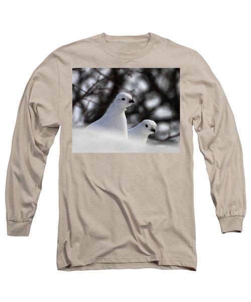 Willow Ptarmigan Long Sleeve T-Shirt