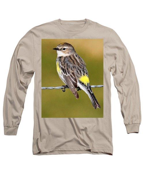 Yellow-rumped Warbler Long Sleeve T-Shirt